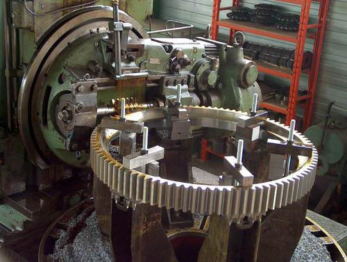Taillage d'engrenage cylindrique droits hélicoïdaux
